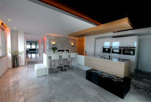 Nieuwsbrief de broers van steenberghe interieurarchitect interieurontwerper - Eiland in de kleine keuken ...