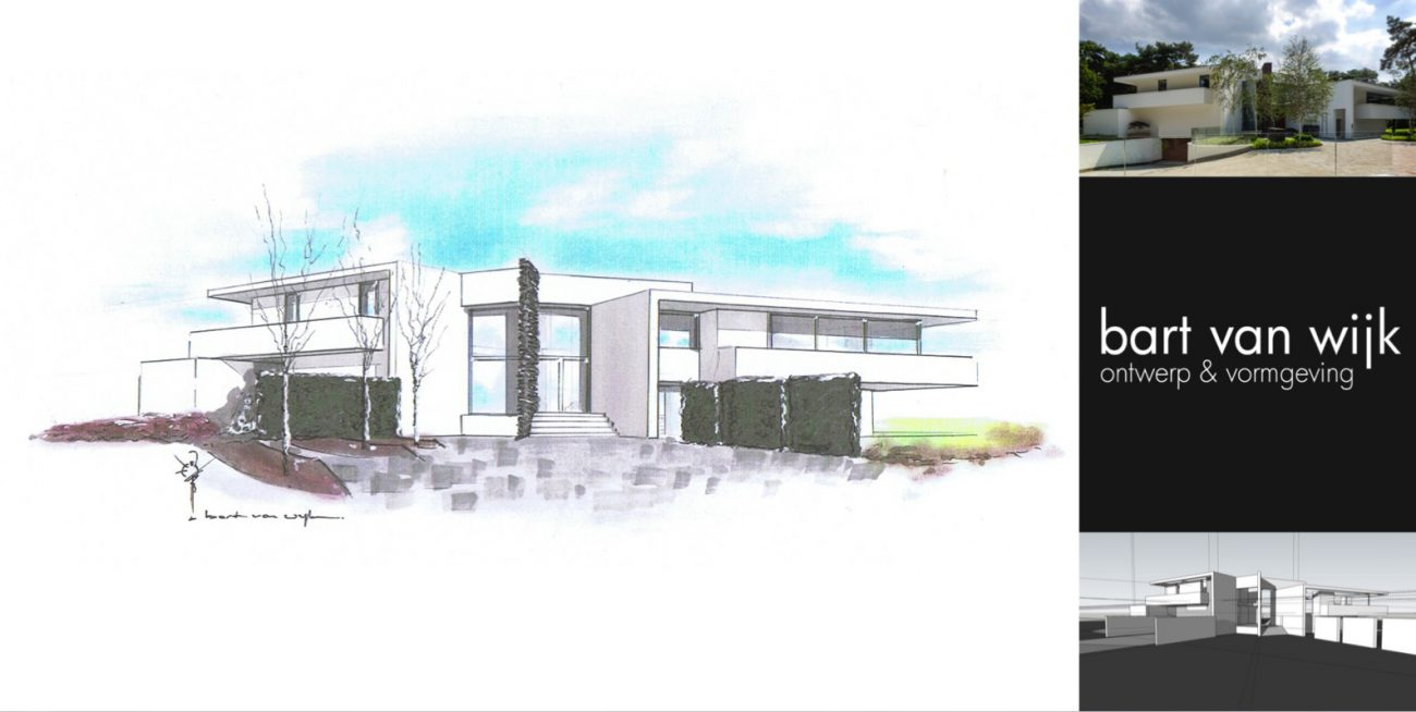 Bart van Wijk Verbouwing met nieuw zwembad