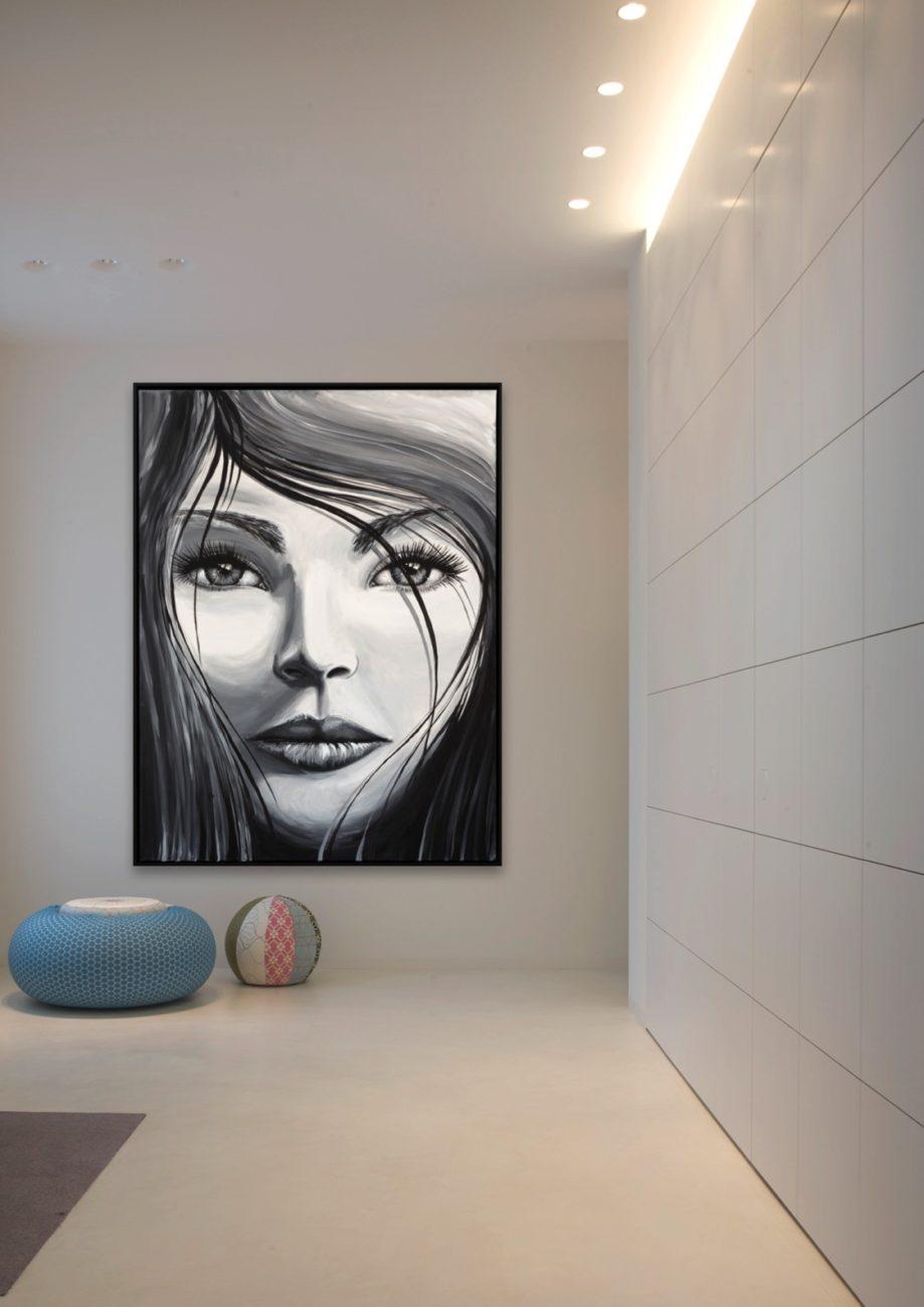 6 Modern schilderij interieurarchitectuur modern interieur verlichtingsarchitectuur verlichting moderne kunst speciale keuken